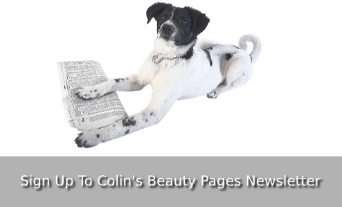 sign up to colins beauty pages newsletter